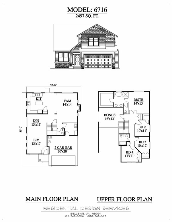 We Offer Unique Single And 2 Story House Plans Custom Garage Plans Split Level Plans For